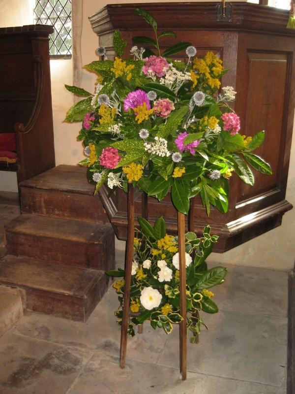 Pulpit arrangement
